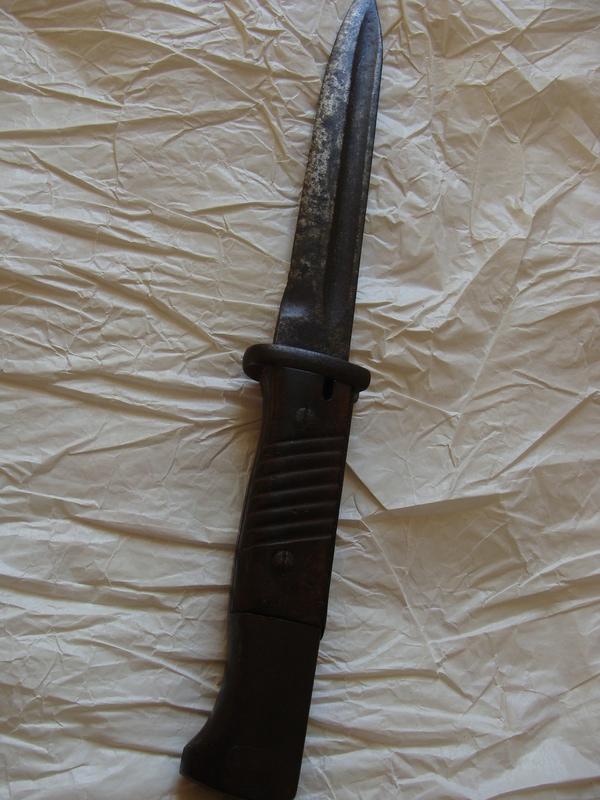 Baïonnette Allemande modèle 1884-98 ???? Dsc06817