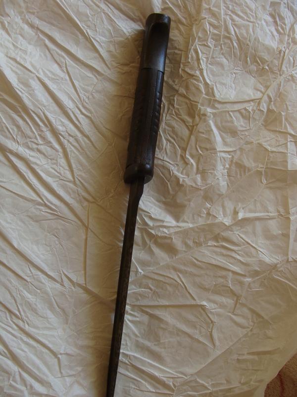 Baïonnette Allemande modèle 1884-98 ???? Dsc06819