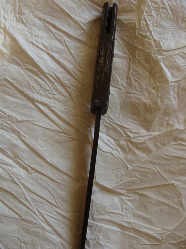 Baïonnette Allemande modèle 1884-98 ???? Dsc06820