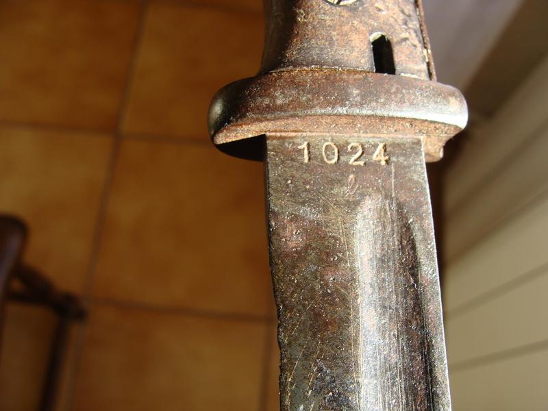 Baïonnette Allemande modèle 1884-98 ???? Dsc06821