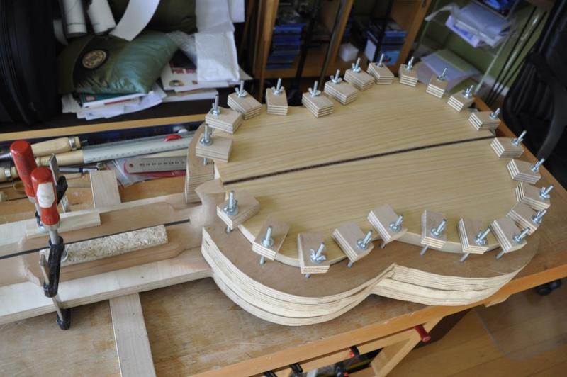 Construire sa guitare ... et plus si affinités avec le travail du bois - Page 5 _dsc0027