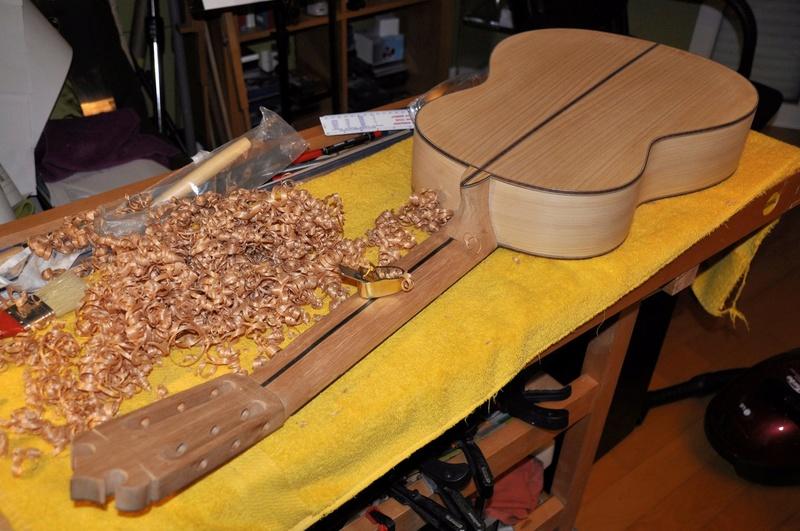 Construire sa guitare ... et plus si affinités avec le travail du bois - Page 7 _dsc0040