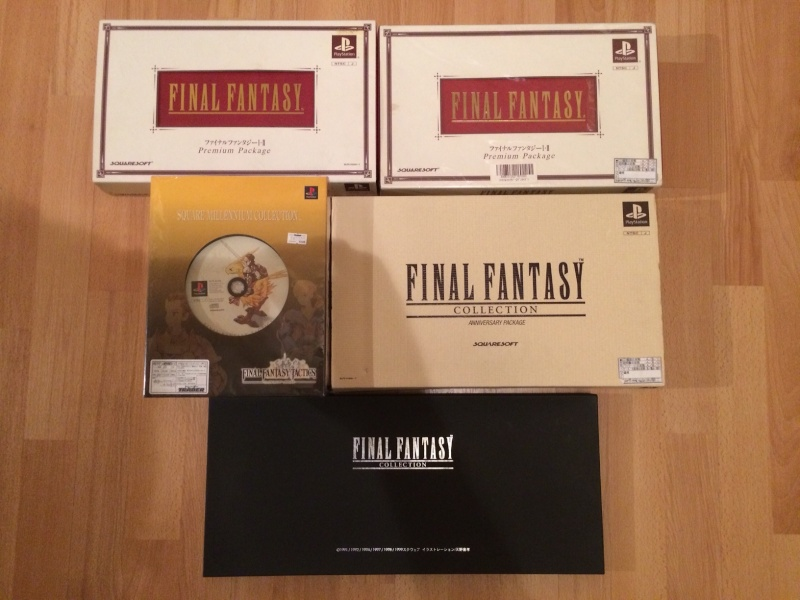FF Museum - derniers arrivages WoFF, FFXIV, FFXV !  Ps1_co10