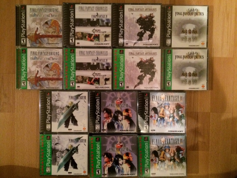 FF Museum - derniers arrivages WoFF, FFXIV, FFXV !  Ps1_us10