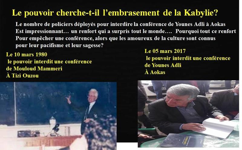 AOKAS: 37 ans après le printemps Berbère on nous interdit d'organiser des conférences sur la Kabylie ? 17155510