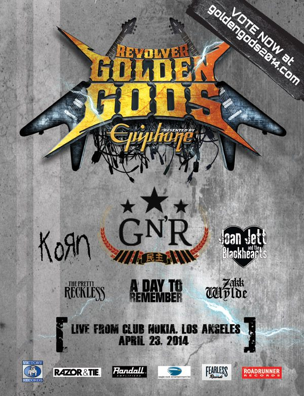 Revolver Golden Gods Awards 2014 10154410