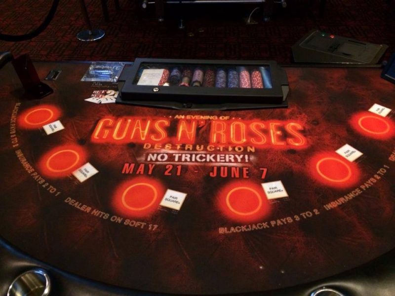 GnR No Trickery! à Vegas  10270310