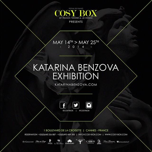 Kat Benzova Exhibition à Cannes 10337710