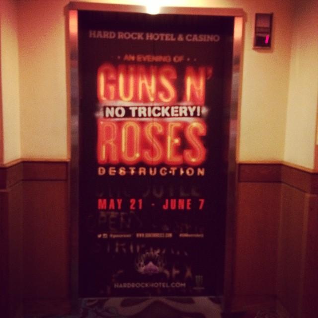 GnR No Trickery! à Vegas  10375010