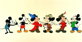 Trésors Disney : les courts métrages, créateurs & raretés des studios Disney - Page 5 Mickey12