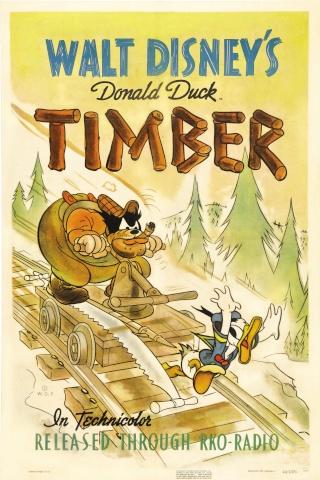 Trésors Disney : les courts métrages, créateurs & raretés des studios Disney - Page 6 Timber10