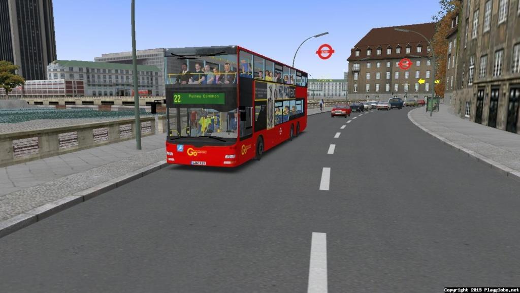 London & South Map V1  Lontoo10