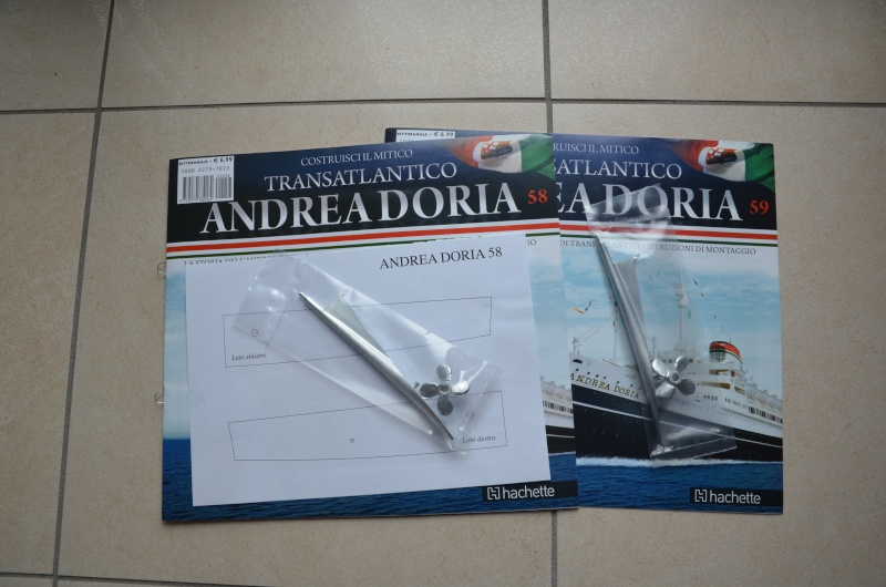 Doria - Transatlantico Andrea Doria Hachette by Amati - Pagina 3 058-0511