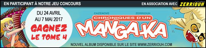 Concours Chroniques d'un mangaka Bannie10