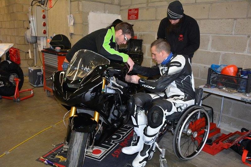 Zx6r 2004 paraplégique  17410210