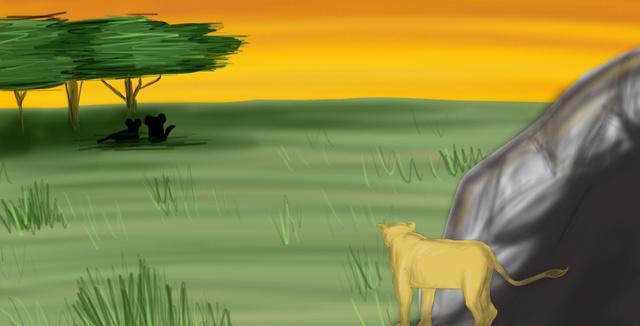 Azu und Akos' kleines Abenteuer: Ein illustriertes Kinderbuch Bild410