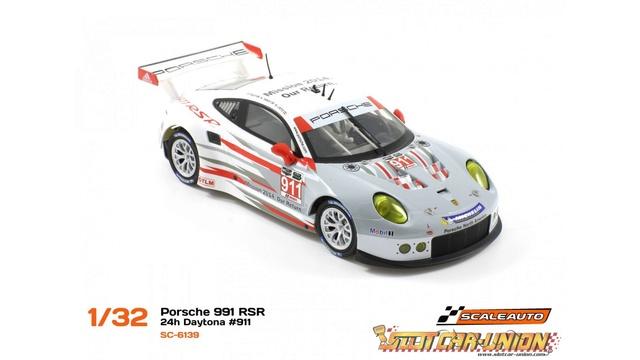 Porsche 991 Scaleauto en Davic pour septembre 2017, annonce et achat groupé Dayton10