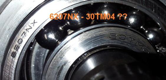 TUTO : S2 1995 2.5 td > Roulement arbre secondaire 6207nx10