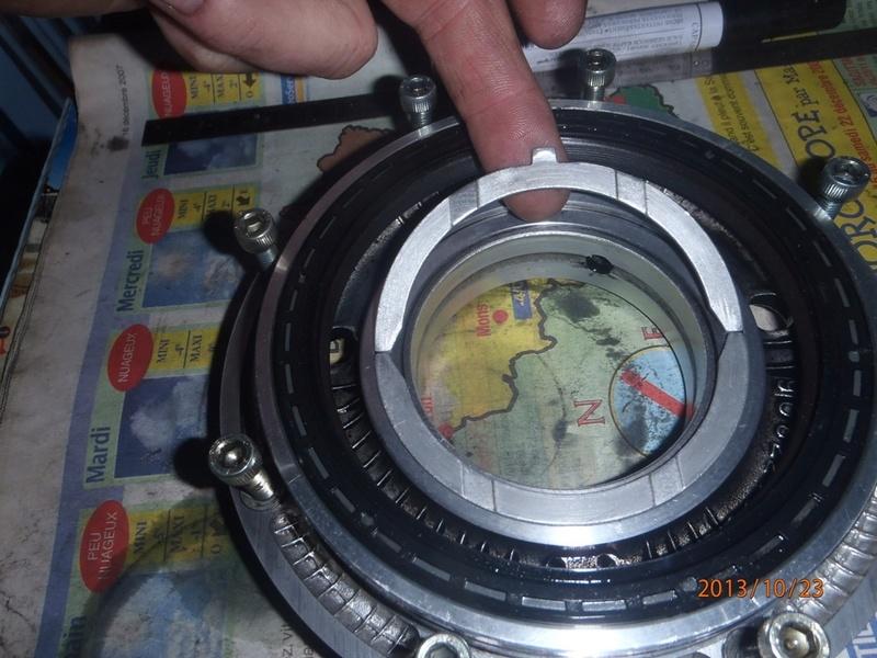 dépose boite manuelle chrysler 2,5td Apa23013