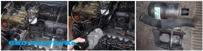 PapyKy remplace les filtres a carburant de son S2. Dymont12