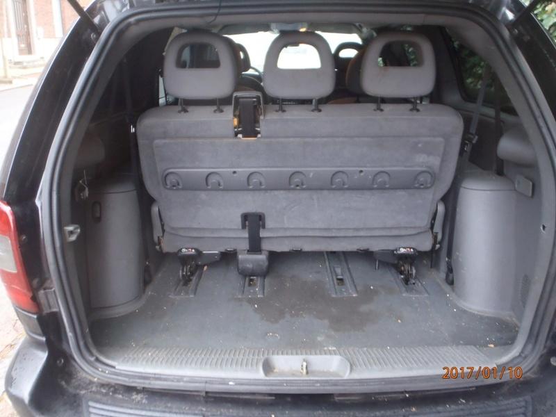 PapyKy, Vend deux sièges centrale et vide poche S4 de 2004 en tissu gris. P1100013