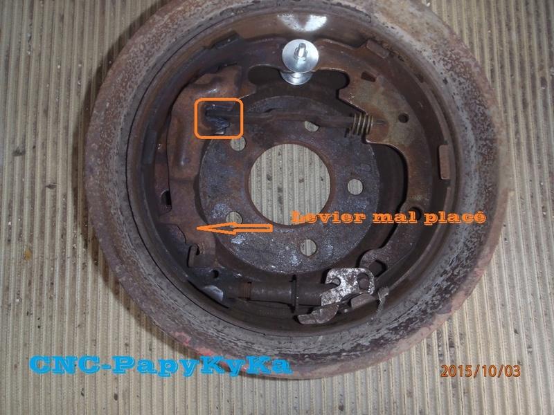 Remplacement garnitures de frein arrière Pa030011