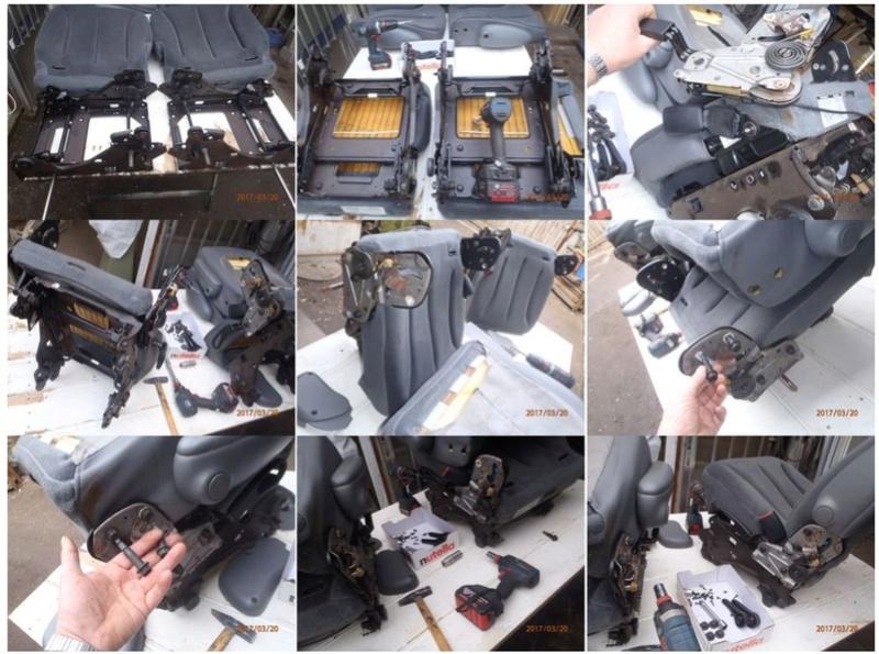 PapyKy, Vend deux sièges centrale et vide poche S4 de 2004 en tissu gris. Remont13