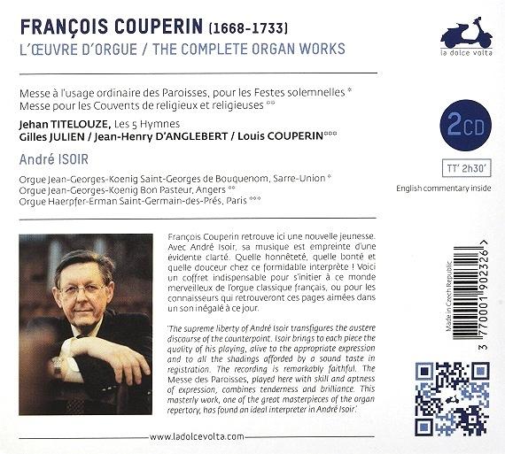 F. Couperin : les deux Messes pour orgue - Page 2 Couper11