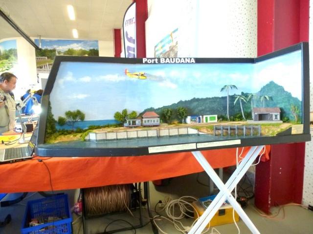 modelisme ferroviaire  HOe sur une planche à repasser ! Expo_b35