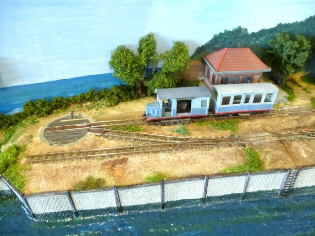modelisme ferroviaire  HOe sur une planche à repasser ! Expo_b39