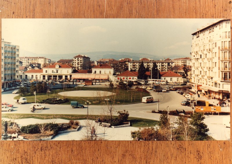 La gare d'Annecy dans les années 1960 Img02711