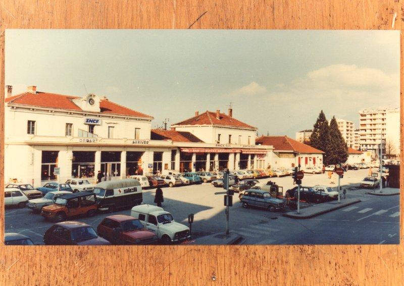 La gare d'Annecy dans les années 1960 Img02910