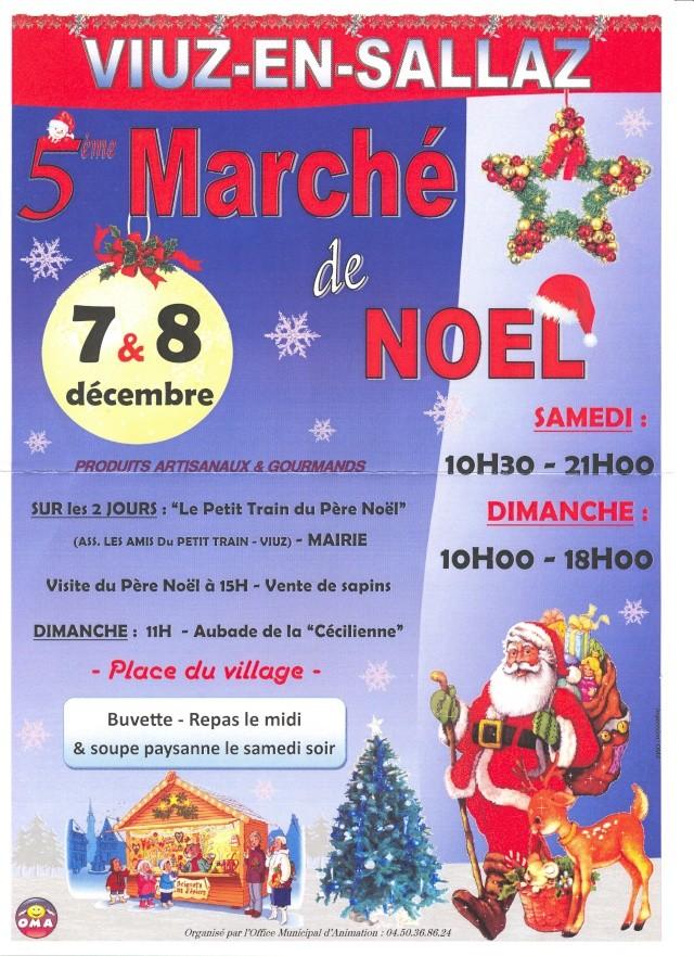 Marché de Noël à VIUZ 7 et 8 Décembre 2013 avec notre Club Numari22