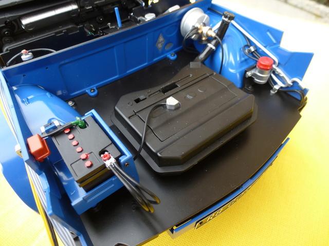 """Suite du montage chassis de ma """"Gordini"""" P1100039"""