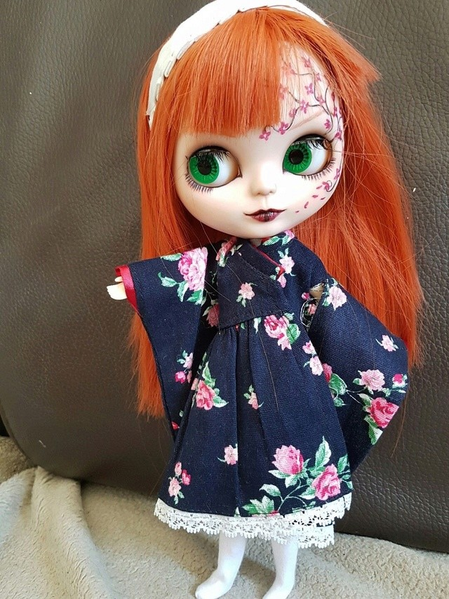[v] ningyou tachi: 2 blythes custo  full set N10
