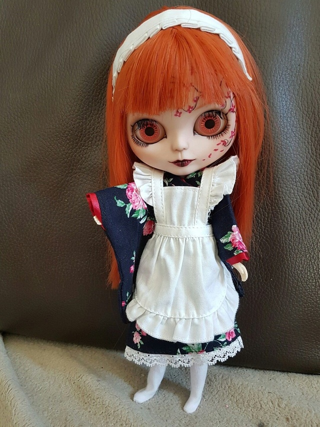 [v] ningyou tachi: 2 blythes custo  full set S-l16013