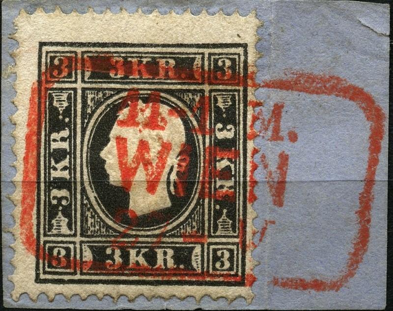 Die Freimarkenausgabe 1858 Type I und II 11iia_10