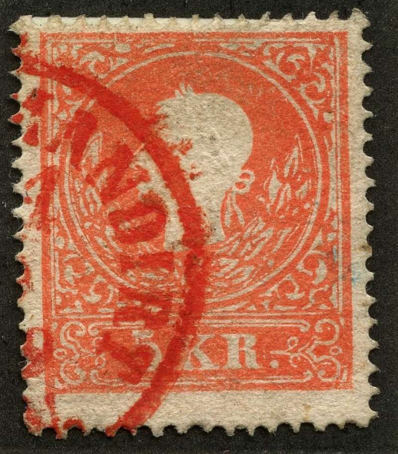 Die Freimarkenausgabe 1858 Type I und II 13_iia10