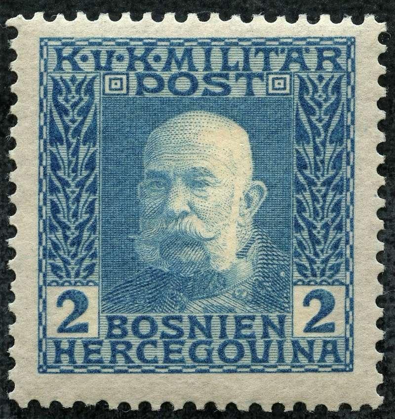 """Österreich Bosnien-Herzegowina """"Freimarkenausgabe 1912"""" Nr. 64 bis 84"""" 65_hel10"""