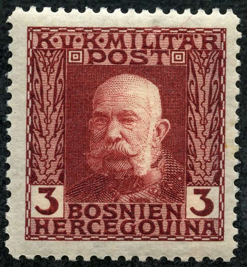 """Österreich Bosnien-Herzegowina """"Freimarkenausgabe 1912"""" Nr. 64 bis 84"""" 66_bra10"""