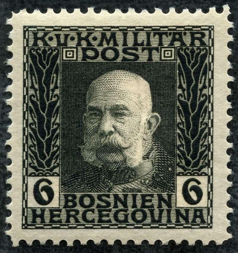 """Österreich Bosnien-Herzegowina """"Freimarkenausgabe 1912"""" Nr. 64 bis 84"""" 68_sch10"""