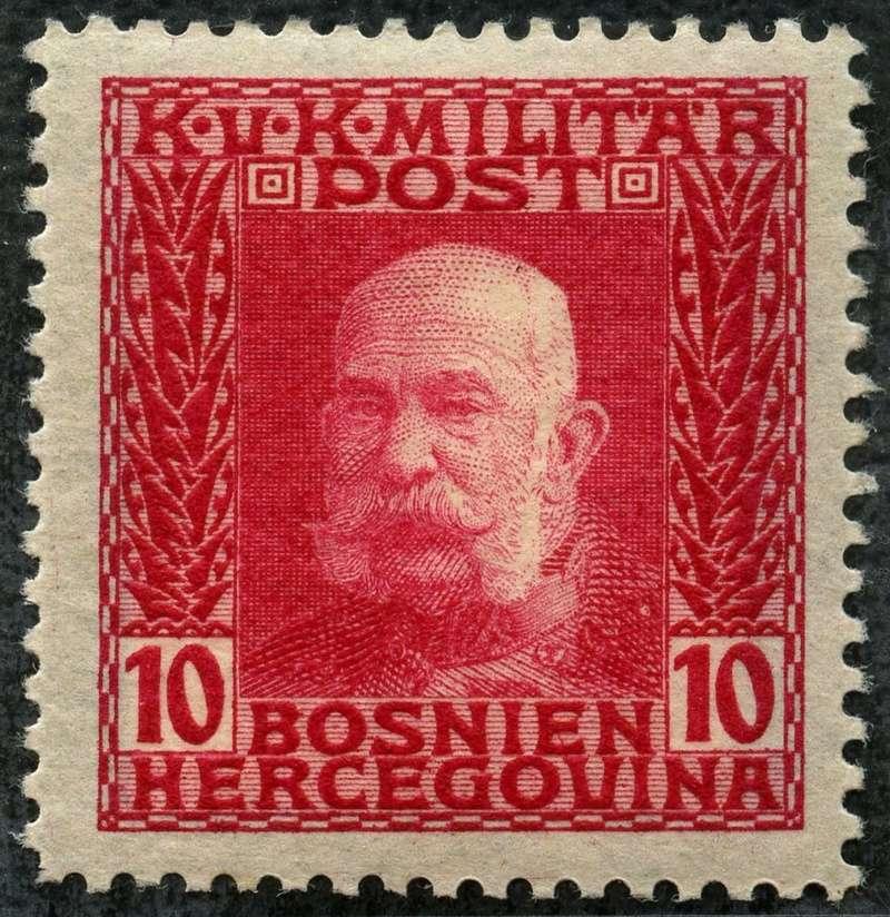 """Österreich Bosnien-Herzegowina """"Freimarkenausgabe 1912"""" Nr. 64 bis 84"""" 69_hel10"""
