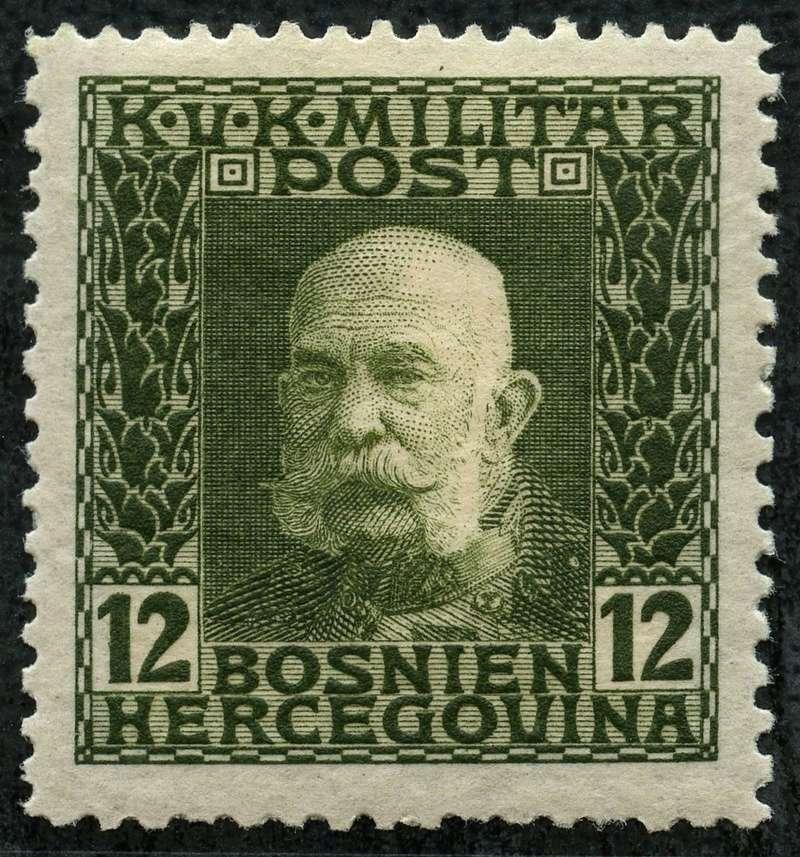 """Österreich Bosnien-Herzegowina """"Freimarkenausgabe 1912"""" Nr. 64 bis 84"""" 70_oli10"""