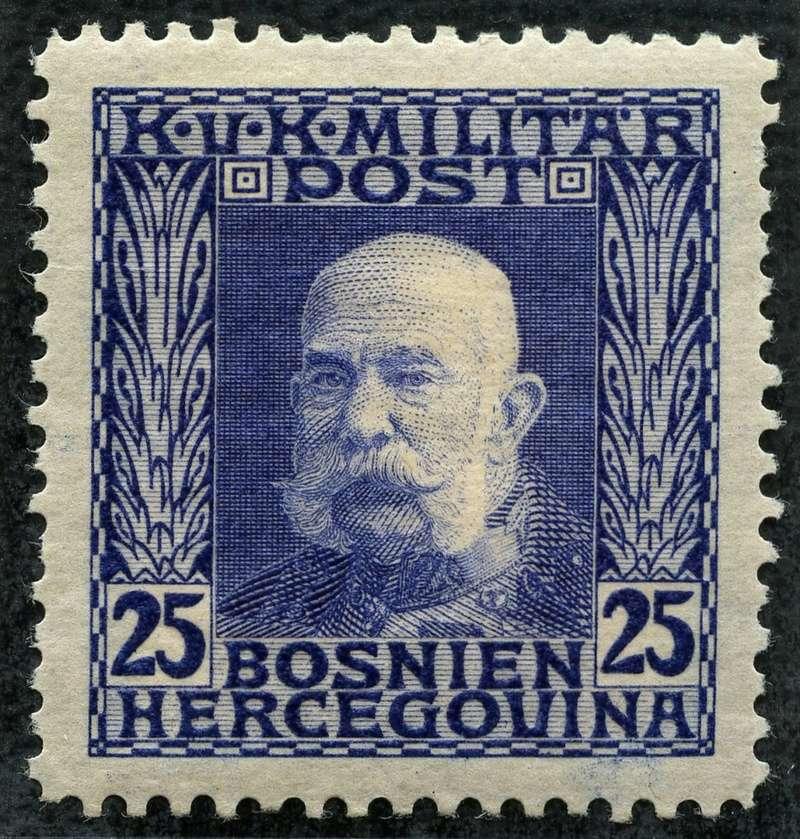 """Österreich Bosnien-Herzegowina """"Freimarkenausgabe 1912"""" Nr. 64 bis 84"""" 72_ult10"""