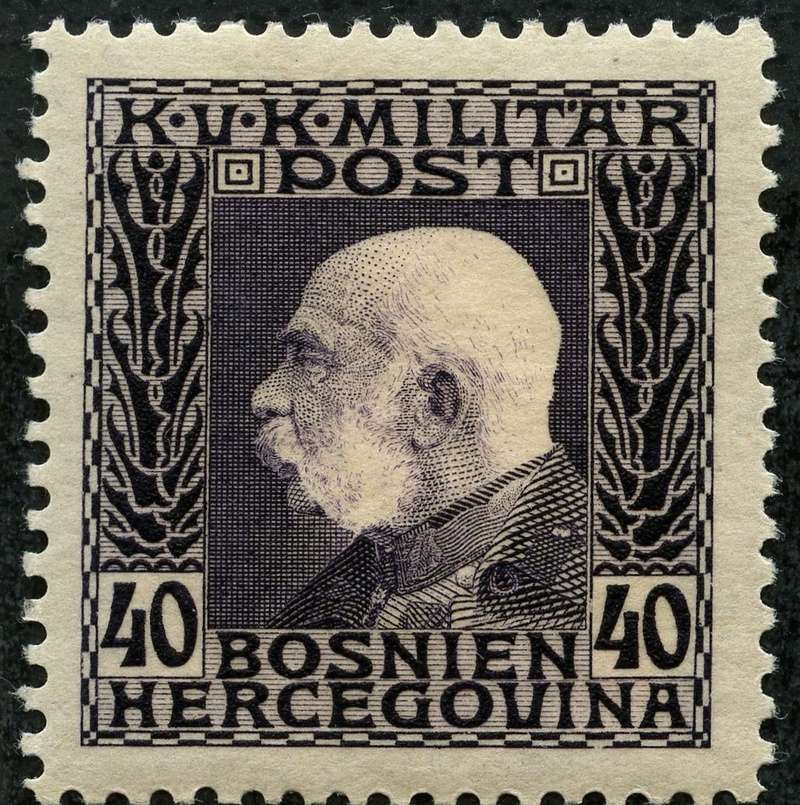 """Österreich Bosnien-Herzegowina """"Freimarkenausgabe 1912"""" Nr. 64 bis 84"""" 75_vio10"""