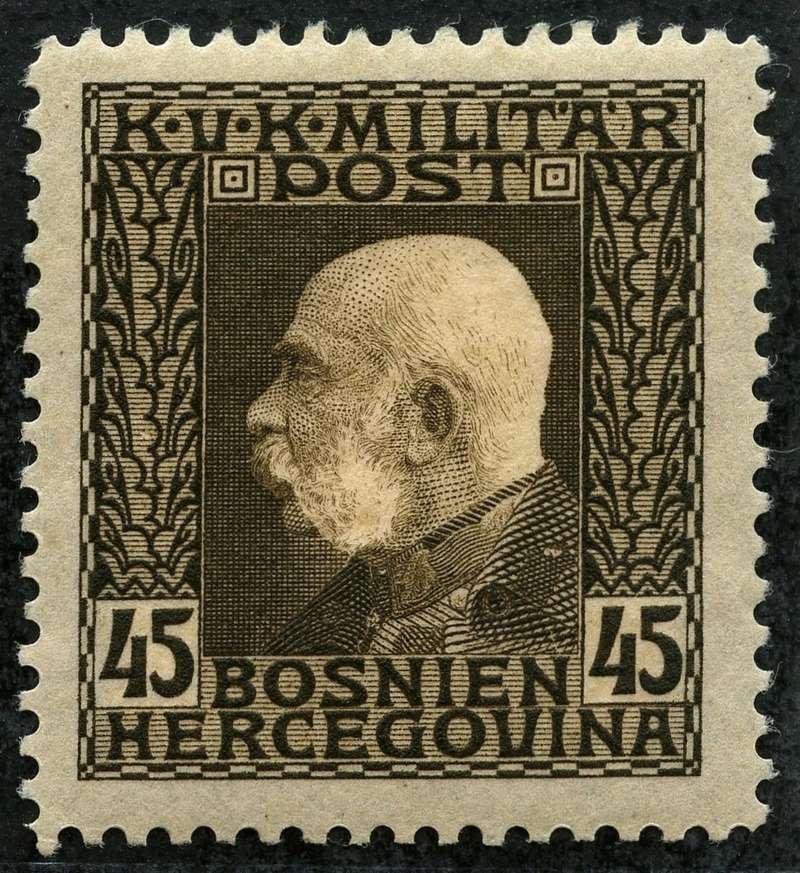 """Österreich Bosnien-Herzegowina """"Freimarkenausgabe 1912"""" Nr. 64 bis 84"""" 76_sch10"""