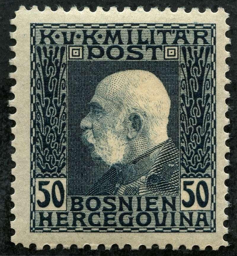 """Österreich Bosnien-Herzegowina """"Freimarkenausgabe 1912"""" Nr. 64 bis 84"""" 77_sch10"""