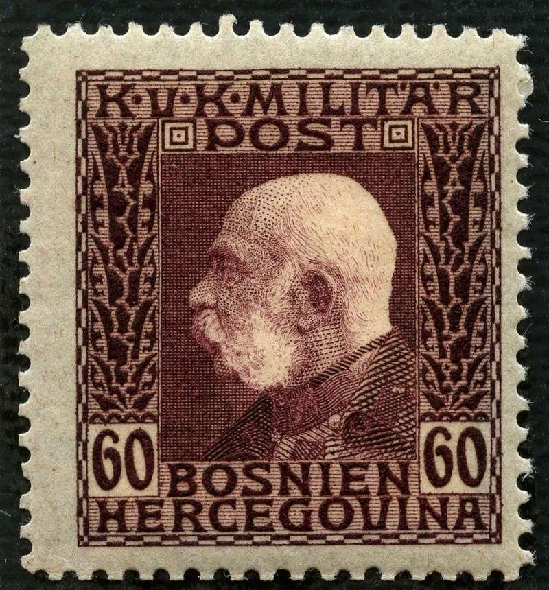 """Österreich Bosnien-Herzegowina """"Freimarkenausgabe 1912"""" Nr. 64 bis 84"""" 78_sch10"""