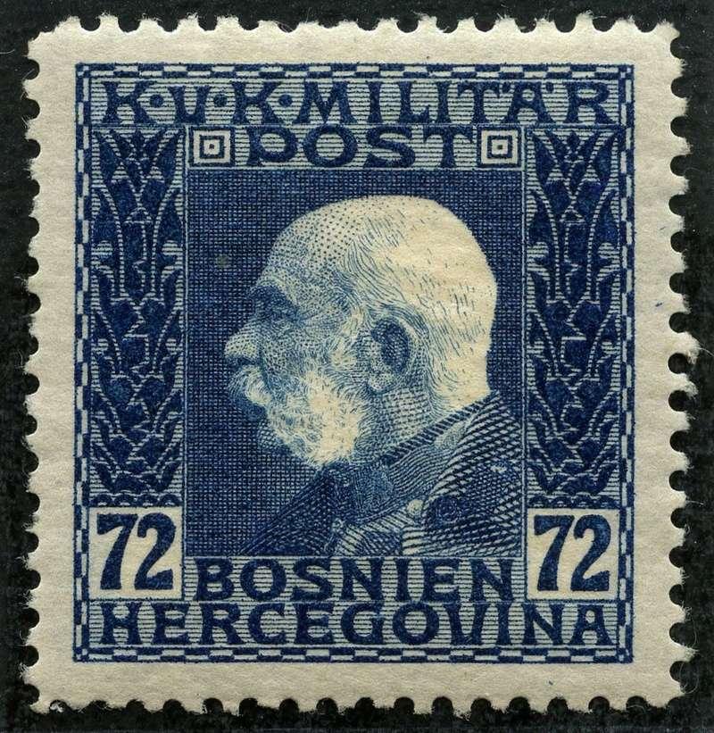 """Österreich Bosnien-Herzegowina """"Freimarkenausgabe 1912"""" Nr. 64 bis 84"""" 79_dun10"""