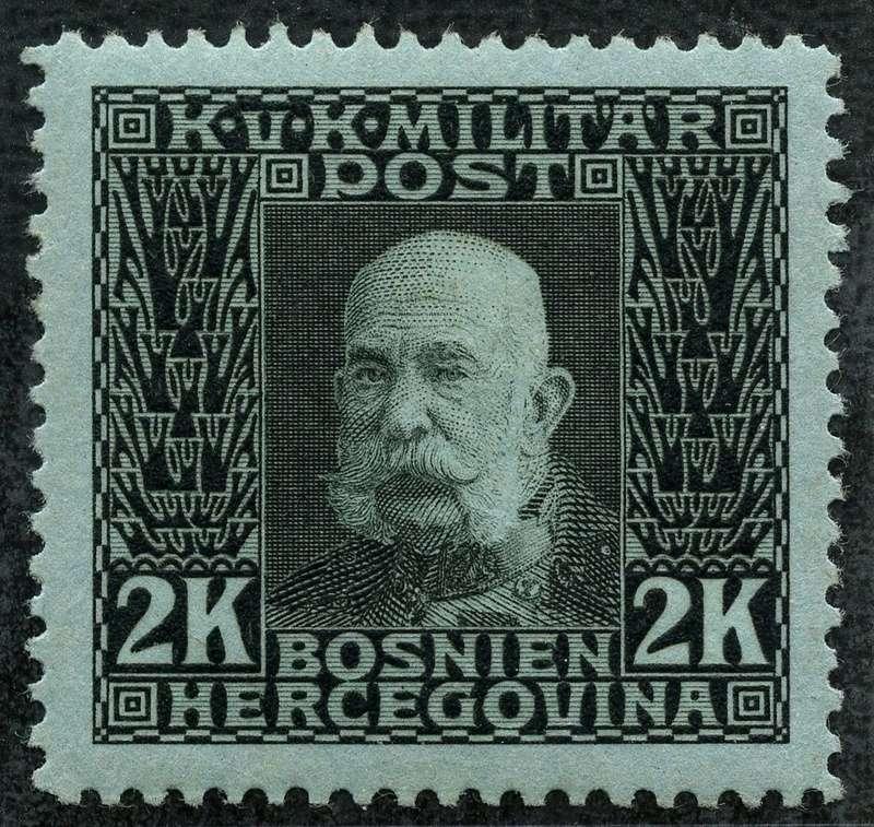 """Österreich Bosnien-Herzegowina """"Freimarkenausgabe 1912"""" Nr. 64 bis 84"""" 81_sch10"""